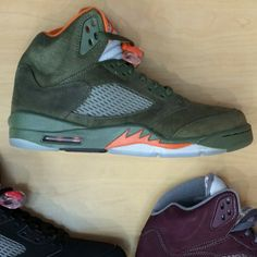 9fdf7569e4df7a AIR JORDAN 5 - OLIVE 5s CONSIGNMENT KICKS!!!!! FOR SALE....READY TO SHIP!!!  SIZE  10   13.5 DS KICKS ONLY!