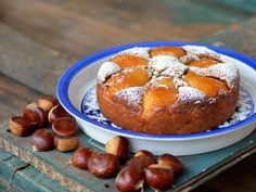 Pear and Chestnut Cake Recipe