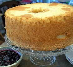 Splenda Angel Food Cake - My girlfriends and I love baking this cake! So spongey and light,tastes great, AND it's made with no-cal Splenda. :)