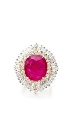 Ruby & Diamond Ring beauty bling jewelry fashion