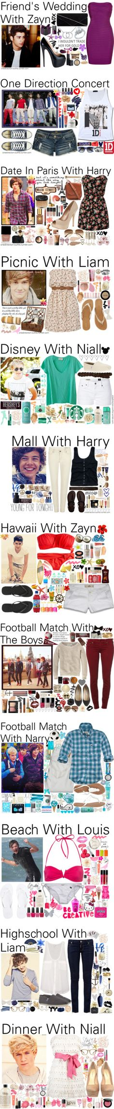 """Outfits #20 - 40 ♥"" by onedirection-outfits ❤ liked on Polyvore"