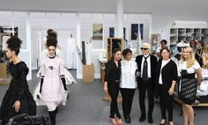 Your Cheat Sheet to Fall 2016 Couture Fashion Week - Karl Lagerfeld Pays Tribute to the House's Seamstresses from InStyle.com