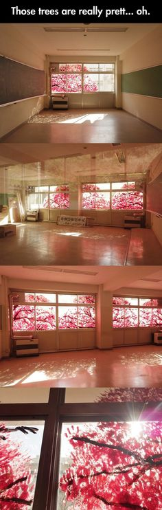 How one creative geek decided to create cherry blossoms.