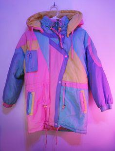Colourful jacket