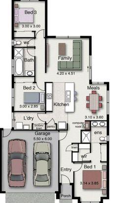 Planos de casas de 120 metros cuadrados