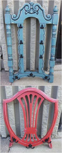 Turn The Back of a Chair into a Coat Rack More