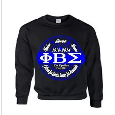 Phi Beta Sigma sweatshirt