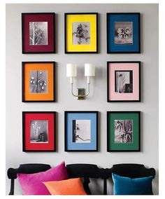 How to display art - Picture grouping ideas