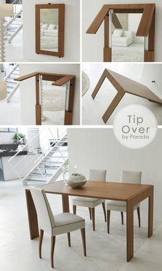 Risultati immagini per specchio-tavolo TIP-OVER