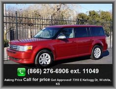 2009 Ford Flex SE Wagon  Steering Wheel Controls, Air Conditioning, Power Outlet, Power Seat (Driver), Child Safety Locks, Power Windows, Adjustable Headrests, Center Console, Traction/Stability Control, Thermometer, Split/Folding Seats, Anti-Theft System, Auto Express Down Window, Rear Window Wiper, Anti-Lock Brakes, Cruise Control, Front Airbags (Dual),