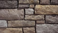 Limestone is a tailored stone that conveys a traditional formality. It is a hand-dressed, chiseled textured stone roughhewn into a rectangular ashlar Eldorado Stone, Manufactured Stone Veneer, Florida Georgia, Prince Edward Island, Fireplace Stone, Fireplace Vent, Farmhouse Fireplace, Fireplace Ideas, Stone Walls