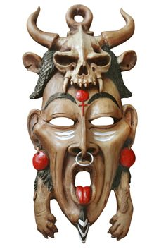Traditional African Mask used in shamanic ritual