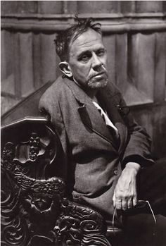 Josef Ehm Portrait of the Photographer Josef Sudek, Prague 1947