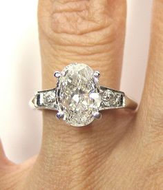 Reserved1930s212ct Antique Vintage Platinum by TreasurlybyDima, $8950.00