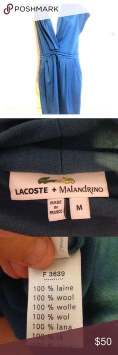 Lacoste malandrino maxi dress