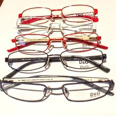 81afd73a09eb Dolce and Gabbanna D G Eyeglasses frames lot of 5 pieces (DG