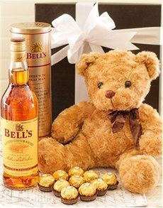 Fine Wine and Spirits - Spirits: Bear Necessities! Best Dad Gifts, Cool Gifts, Fathers Day Gifts, Gifts For Dad, Chocolate Hampers, Chocolate Box, Animal Delivery, Man Crates