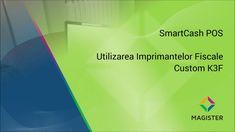 Dupa testele noastre, pana in acest moment, imprimantele Custom K3F sunt cele mai rapide echipamente de acest gen, integrate cu #SmartCash POS. Viteza de imprimare maxima de 250mm/s se apropie si in realitate de specificatiile tehnice. #imprimantafiscala #Magister Pos, Software, Video, Chart