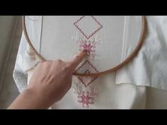 Bead Embroidery Tutorial, Paper Embroidery, Beaded Embroidery, Cross Stitch Embroidery, Crochet Doily Patterns, Baby Knitting Patterns, Crochet Doilies, Doll Clothes Patterns, Clothing Patterns