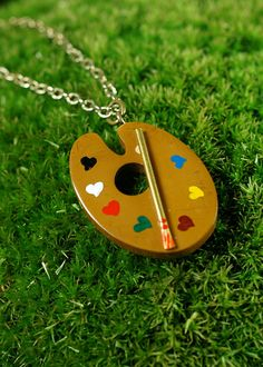 the BEST necklace for an art teacher and artistic mother. Beautiful