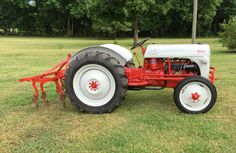 My newly restored 1949 Ford 8N Tractor.