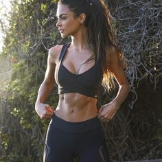 #Fitness babe