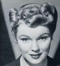 1940's vintage hair@dmvc