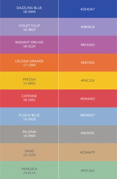 pantone fashion colors 2014