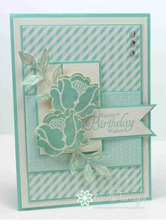 Stampin' Up! Simple Stems - Freshly Made Sketches