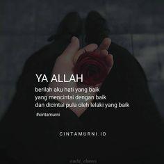 Hijrah Islam, Doa Islam, Muslim Quotes, Islamic Quotes, Best Quotes, Love Quotes, Cute Muslim Couples, Quotes Galau, Quotes Indonesia