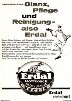 Original-Werbung/ Anzeige 1961 - ERDAL ROTFROSCH - Ca. 120 X 170 Mm - Werbung