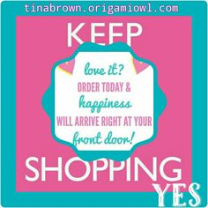 The best way to shop is from the comfort of your own home!! Then delivered to your doorstep!! Visit. tinabrown.origamiowl.com. Have fun shopping!! #Origamiowl #Dazzlingdesigners #lovetoshop #onlineshopping #nowthatshappy