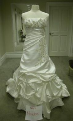 New With Tags Michelle Roth Wedding Dress 5053 Meadow, Size 6    Get a designer gown for (much!) less on PreOwnedWeddingDresses.com