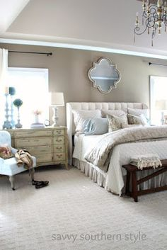 Neutral Color Inspiration For A Master Bedroom Bloggers Best
