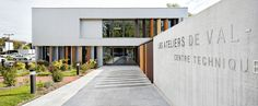 Municipal Technical Center  / STUDIOS Architecture