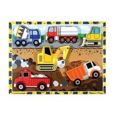 Melissa and Doug - Puzzle Chunky Construction