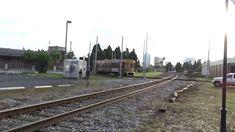 Tampa Bay HART TECO Line Gomaco Replica Birney Trolley Car Crossing Amtr...