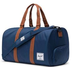 Buy Herschel Supply Co. Ravine Duffle Holdall, Navy from our Holdalls range at John Lewis & Partners. Mens Gym Bag, Bf Gifts, Herschel Supply Co, Travel Luggage, Usa Travel, Duffel Bag, Laptop Bag, Backpacks, Leather