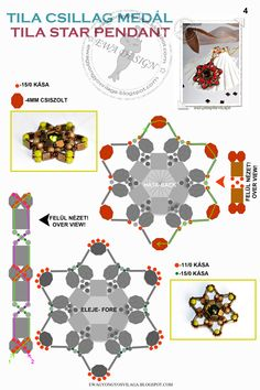 Tila star pendant