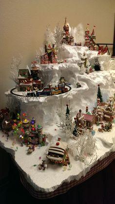 North Pole Display by Christi