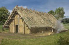 Figure 2. Reconstruction of a LBK house (Elaborated by A. Czekaj-Zastawny, realised by L. Wojcik (after Czekaj-Zastawny 2008: Fig 33)