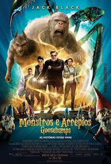 Goosebumps a 2015 American live-action/computer-animated horror comedy film. The film star Jack Black as R. Stine, Dylan Minnette a. 2015 Movies, Latest Movies, Hd Movies, Movies To Watch, Movies Online, Movie Tv, Movies Free, Cinema Movies, Series Movies