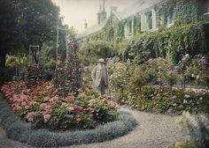 A filmagem foi realizada no verão de 1915 quando Monet tinha 74 anos de idade.