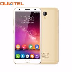 "new arrival OUKITEL K6000 Plus 5.5"" 8 Core 4G Android 7.0 4GB/64GB 16MP Cam Fingerprint Smartphone"