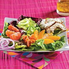 Salade de saumon fumé colorée - Recettes - Cuisine et nutrition - Pratico Pratique