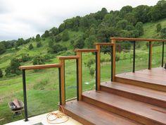 House Design Photos, Balcony Design, Garden Fencing, Garden Bridge, Cool Photos, Outdoor Structures, Landscape, Fences, Outdoor Decor