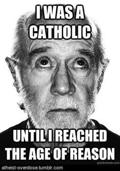 Got in trouble a school for wearing a tshirt with this saying on it... I went to a catholic high school. They were not amused.