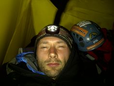 August 2012    Julian Woodward, one of our London designers,  sending us a holiday snap from Mont Blanc, camping on Vallee Blanch during a storm... Some people would perhaps prefer sunnier, warmer climates for their August summer holidays.  Not Julian.  A keen climber who would probably never visit Norfolk.