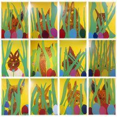 Einige Arbeitsergebnisse aus dem Kunstunterricht - Schule Am Lindenberg