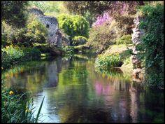 Spring Water Scene